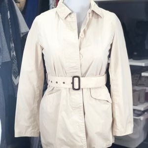 GAP Cream Trench coat size M